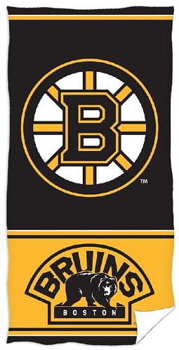 Osuška NHL Boston Bruins 70x140 cm  <br>399 Kč/1 ks